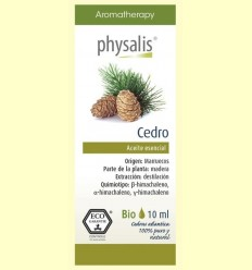 Oli Essencial Cedre Bio - Physalis - 10 ml