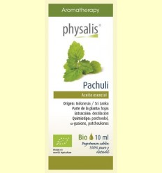 Oli Essencial Pàtxuli Bio - Physalis - 10 ml