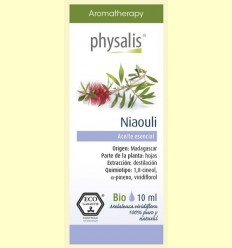 Oli Essencial Niaouli Bio - Physalis - 10 ml