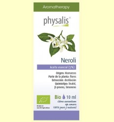 Oli Essencial Neroli Bio - Physalis - 10 ml