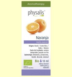 Oli Essencial Taronja Bio - Physalis - 10 ml