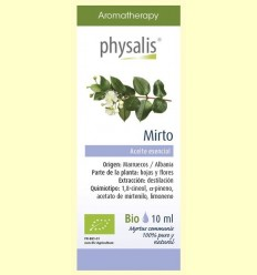 Oli Essencial Mirto Bio - Physalis - 10 ml