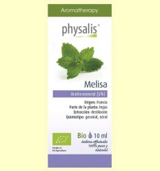 Oli Essencial Melisa Bio - Physalis - 10 ml