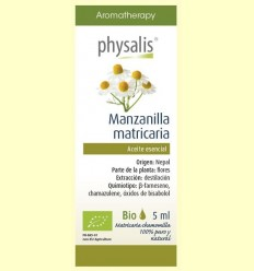 Oli Essencial Camamilla Matricaria Bio - Physalis - 5 ml