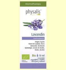 Oli Essencial Lavandin Bio - Physalis - 10 ml