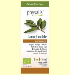 Oli Essencial Llorer Noble Bio - Physalis - 10 ml