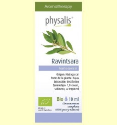 Oli Essencial Ravintsara Bio - Physalis - 10 ml