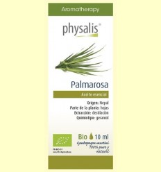 Oli Essencial Palmarosa Bio - Physalis - 10 ml