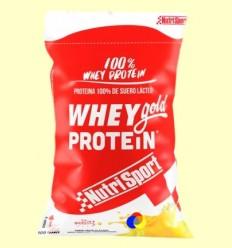 Whey Gold Protein - Nutrisport - Iogurt Plàtan - 2000 grams