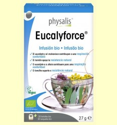 Eucalyforce Infusió Bio - Physalis - 20 infusions