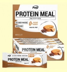 Protein Meal - Barretes Proteiques gust Galeta - PWD - 12 barretes