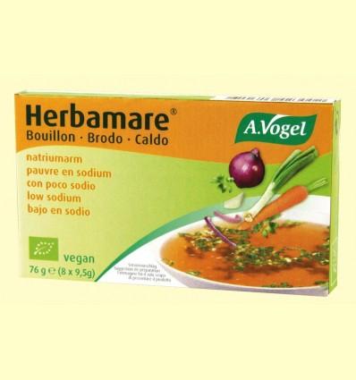 Plantaforce baix en sodi - Caldo vegetal - A. Vogel - 76 grams