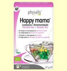 Happy Mama Infusió Bio - Physalis - 20 infusions