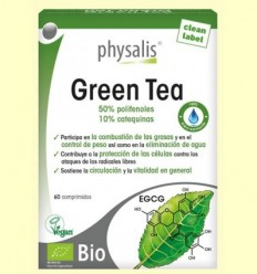 Green Tea - Physalis - 60 comprimits