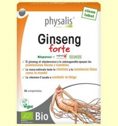Ginseng Forte Bio - Physalis - 30 comprimits