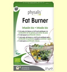 Fat Burner Infusió Bio - Physalis - 20 filtres
