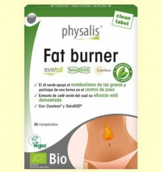 Fat Burner Bio - Physalis - 30 comprimits