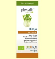 Oli Essencial Fonoll Bio - Physalis - 10 ml