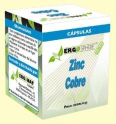Zinc i Coure - Ergonat - 50 càpsules