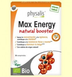 Max Energy Bio - Physalis - 30 comprimits