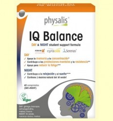 IQ Balanç Day & Night Bio - Physalis - 60 comprimits