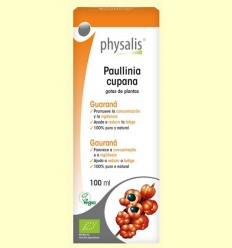 Paullinia cupana Bio - Guaraná - Physalis - 100 ml