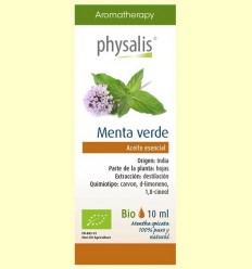 Oli Essencial Menta Verd Bio - Physalis - 10 ml