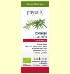 Oli Essencial Romero ct. càmfora Bio - Physalis - 10 ml