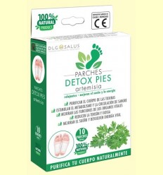 Pegats Detox Peus Artemisia - DLG Salus - 10 unitats