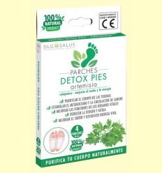 Pegats Detox Peus Artemisia - DLG Salus - 4 unitats