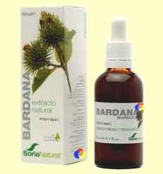 Bardana - Extracte de Glicerina Vegetal - Soria Natural - 50 ml