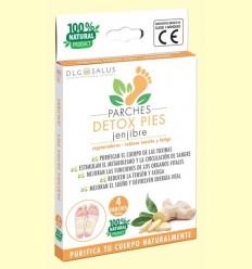 Pegats Detox Peus Gingebre - DLG Salus - 4 unitats