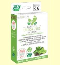 Pegats Detox Peus Te Verd - DLG Salus - 10 unitats