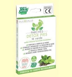 Pegats Detox Peus Te Verd - DLG Salus - 4 unitats