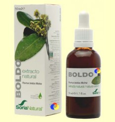 Boldo - Extracte de Glicerina Vegetal - Soria Natural - 50 ml