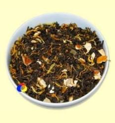 Te Negre Pu-Erh Exòtic aromatitzat Pinya-Taronja - El Món de el te - 100 grams