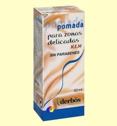 Pomada per a zones delicades HEM - Derbós - 50 ml