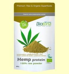 Proteïna de Cànem en Pols Bio - Biotona - 300 grams