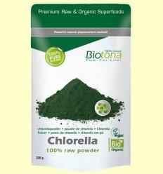 Chlorella en Pols Bio - Biotona - 200 grams