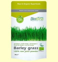 Herba de Ordi en Pols Bio - Biotona - 200 grams
