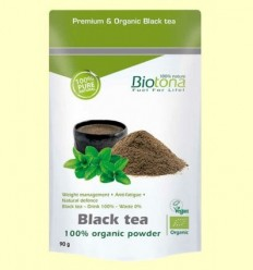 Te Negre Bio - Biotona - 90 grams