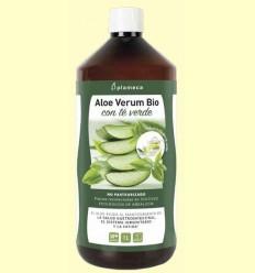 Aloe Vera Bio amb Te Verd - Plameca - 1 litre