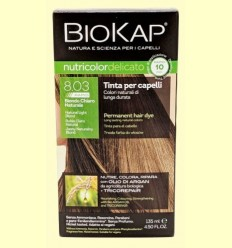 Tint Delicato Rapid 8.03 Rubio Clar Natural - Biokap - 140 ml