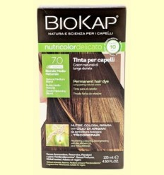 Tint Delicato Rapid 7.0 Rubio Medi Natural - Biokap - 140 ml