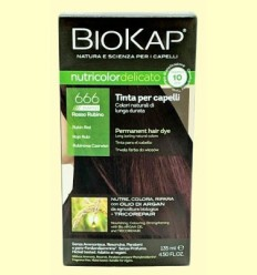 Tint Delicato Rapid 6.66 Vermell Rubí - Biokap - 140 ml