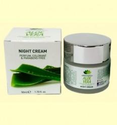Crema de Nit amb Aloe Vera - Lucy Cosmetics - Van Horts - 50 ml