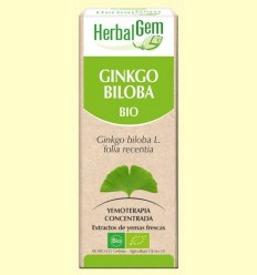 Ginkgo Biloba Bio - Yemoterapia - Herbal Gem - 50 ml