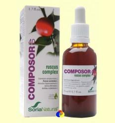 Composor 40 - Ruscus Complex - Soria Natural - 50 ml