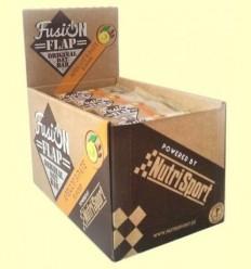 Fusion Bar Flap Albercoc i Dàtil - NutriSport - 24 barretes