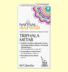 Triphala metab Ayurveda - Natysal - 60 càpsules